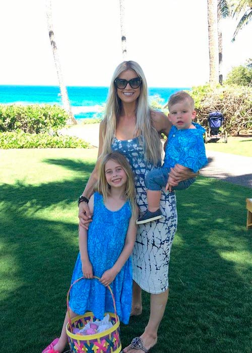 Christina El Moussa during a trip to Maui in April 2017
