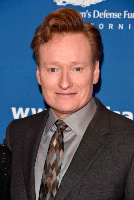 Conan O'Brien at the 26th Annual Beat The Odds Awards in December 2016