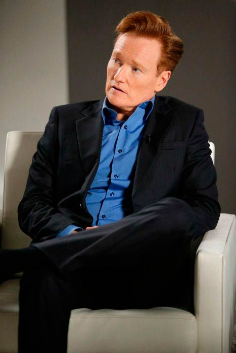 Conan O'Brien at the Variety Studio Actors on Actors event in March 2015