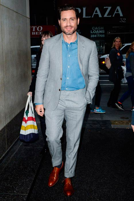 Édgar Ramírez arrived for the Today show in NYC in October 2016