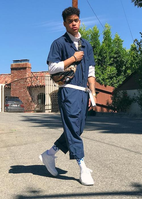 Edwin Honoret in a picture uploaded to his Instagram account in July 2017