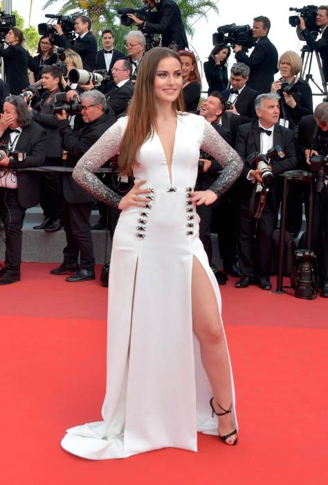 Fahriye Evcen at The Meyerowitz Stories screening during the 70th annual Cannes Film Festival in May 2017