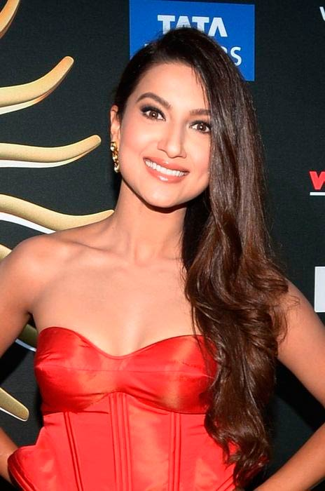 Gauhar Khan at the IIFA Awards in April 2014 in Tampa, Florida