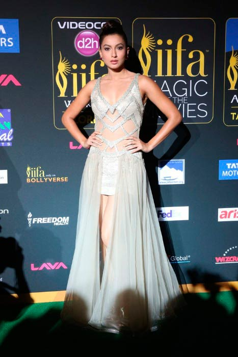 Gauhar Khan at the IIFA Magic of the Movies event in April 2014 in Florida