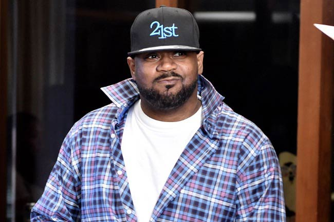 Ghostface Killah at the press conference to announce Wu Tang Clan having signed with Warner Bros. Records in October 2014