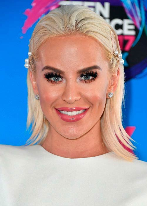 Gigi Gorgeous at the Teen Choice Awards in Los Angeles in August 2017