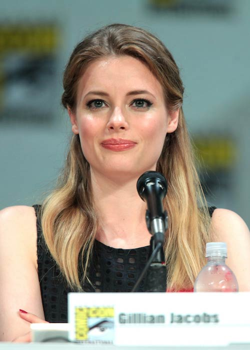 Gillian Jacobs at 2014 San Diego Comic-Con International