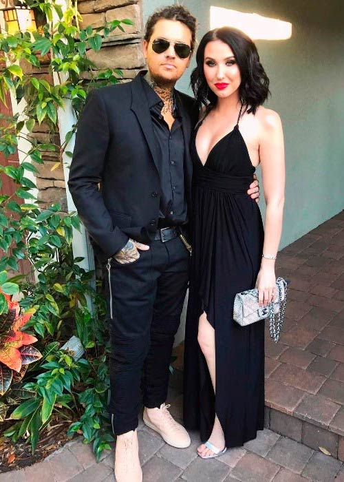 Jaclyn Hill and her husband Jon Hill in a picture shared on her Instagram in April 2017