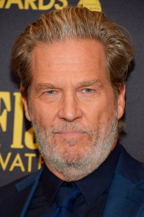 Jeff Bridges arrives for the Golden Globe Award season in Los Angeles in November 2016