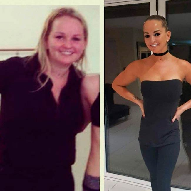 Jennifer Ellison before and after pics