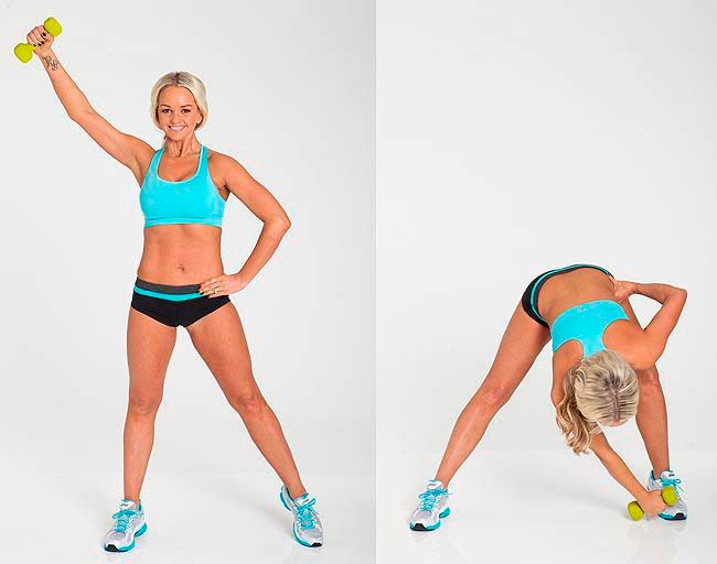 Jennifer Ellison workout move
