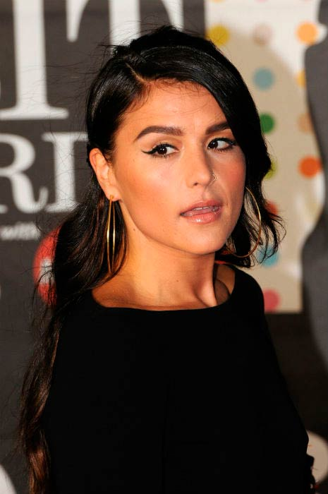Jessie Ware at the Brit Awards in February 2013