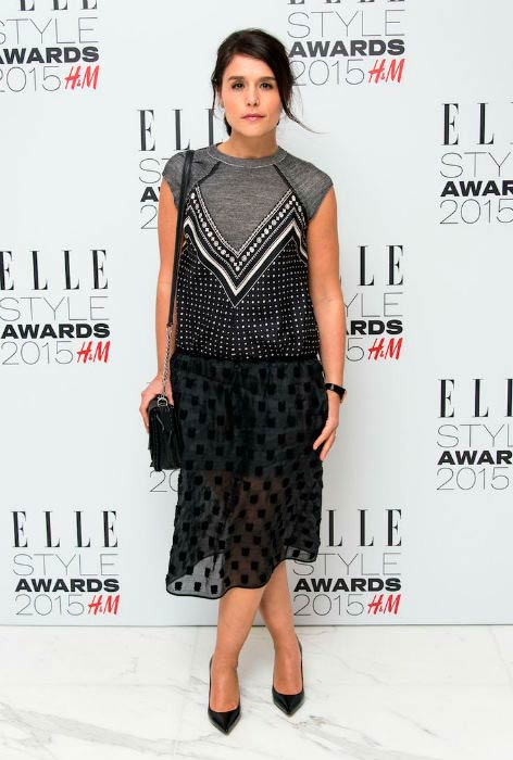 Jessie Wares at the Elle Style Awards in February 2015