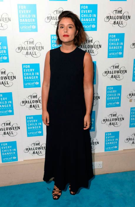 Jessie Wares at the UNICEF Halloween Ball in October 2015