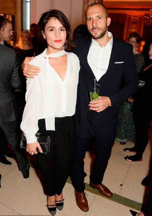 Jessie Wares and Sam Burrows at the Harper's Bazaar Women of the Year awards in November 2014