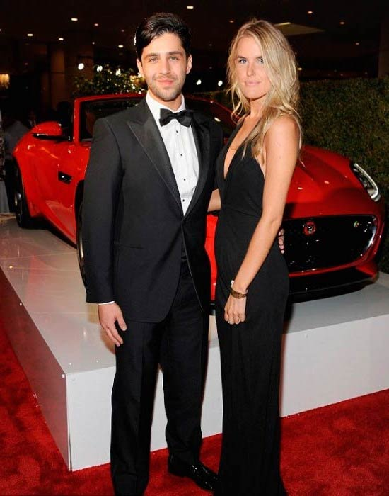 Josh Peck and Paige O'Brien at the Jaguar event in Beverly Hills in October 2014