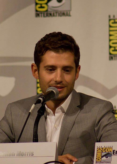 Julian Morris at the 2015 Comic-Con International