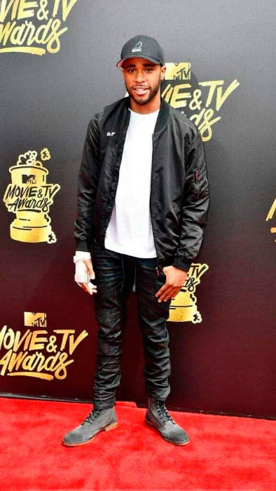 Khylin Rhambo at the MTV Movie and TV Awards in May 2017