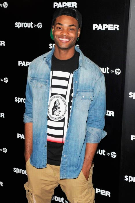 King Bach at the Paper Magazine, Sprout By HP & DKNY Break The Internet Issue Release in December 2014