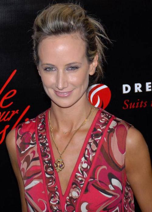 Lady Victoria Hervey at the Slim Fast Fashion Show in 2008