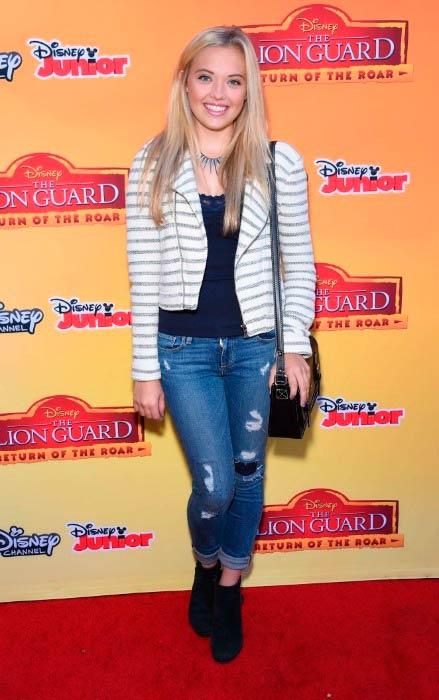 Lauren Taylor at The Lion Guard: Return of The Roar Premiere in November 2015