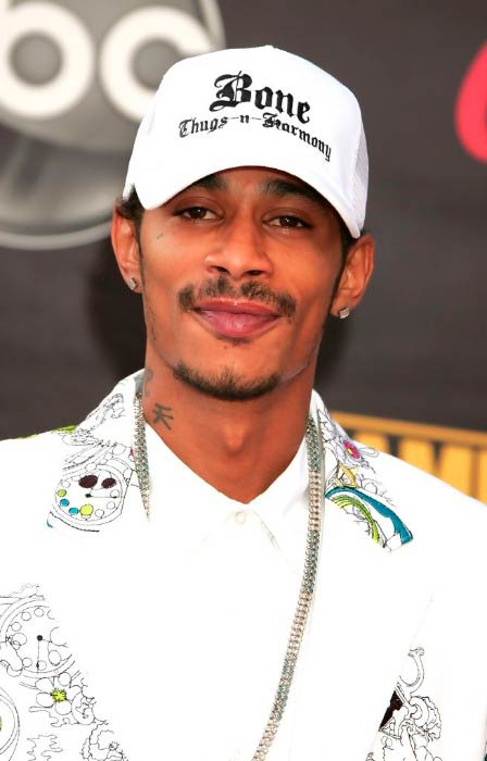Layzie Bone at the American Music Awards in November 2017