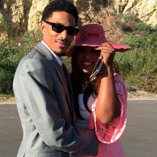 Layzie Bone and Felecia Lindsey in a file picture