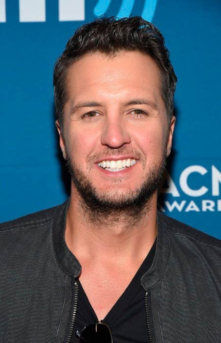 Luke Bryan at the SiriusXM's The Highway Channel broadcast event in May 2017