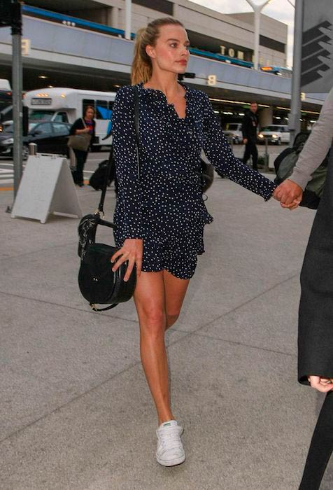 Margot Robbie at LAX Airport in Los Angeles in 2017
