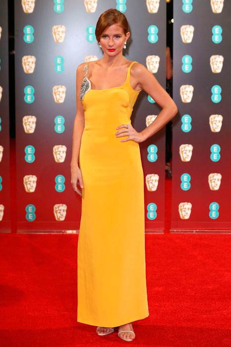 Millie Mackintosh at 2017 BAFTA Awards in London