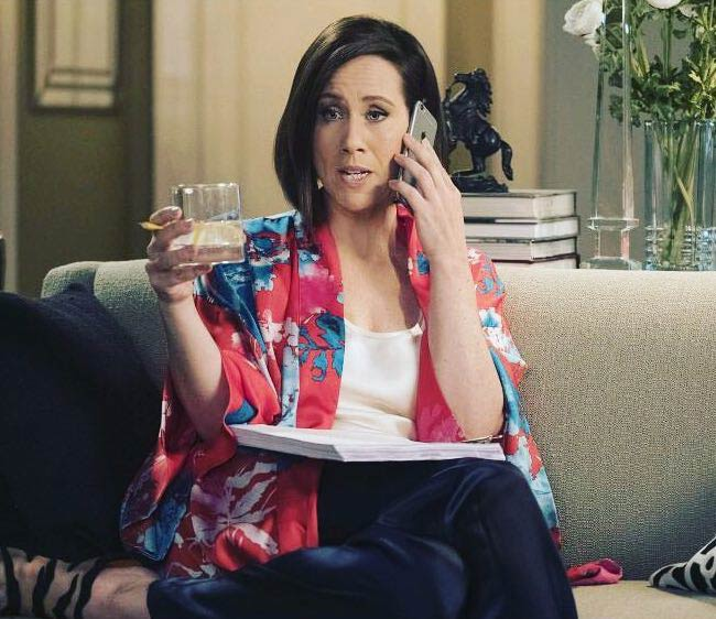 Miriam Shor in a still from Younger TV show