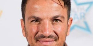 Peter Andre Statistics on Healthy Celeb