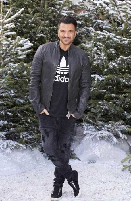Peter Andre at The Ideal Home Show At Christmas in November 2016