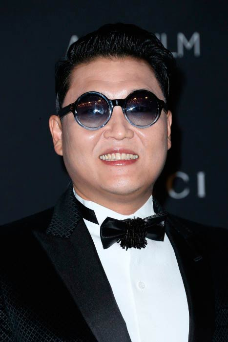 Psy at the LACMA 2015 Art+Film Gala in Los Angeles