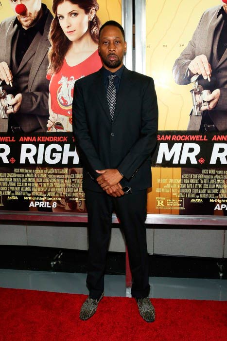 RZA at the Mr. Right New York Premiere in April 2016