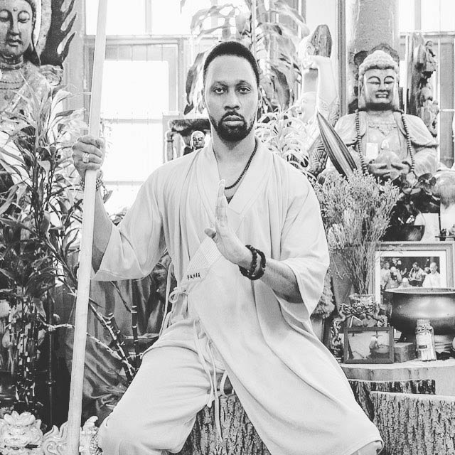 RZA in a picture shared on his Instagram in March 2017