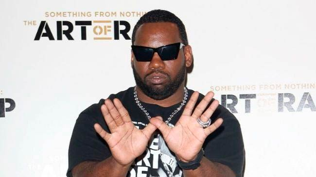 Raekwon at the European premiere of The Art of Rap in July 2012 in London