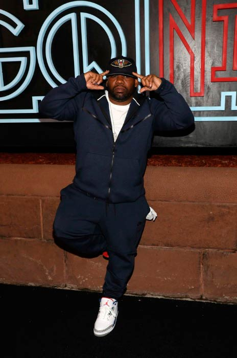 Raekwon at the GQ Celebration of NBA All-Star Weekend in February 2017