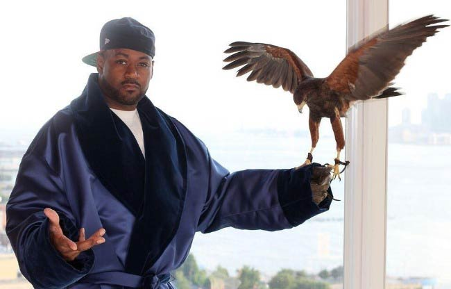 Rapper Ghostface Killah in a photoshoot done in 2014