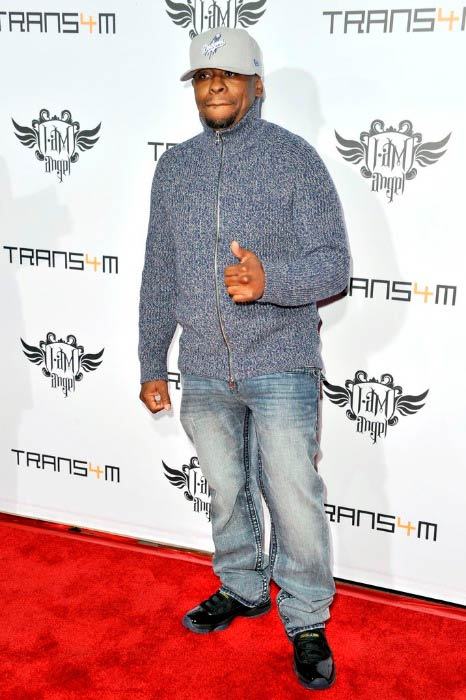 Scarface at the third annual TRANS4M concert benefitting i.am.angel Foundation in January 2014