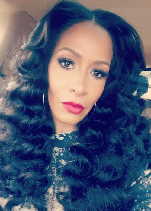 Sheree Whitfield in an Instagram selfie in September 2017