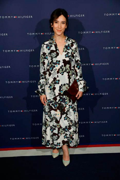Sibel Kekilli at the Tommy Hilfiger Dinner in celebration of the 12th Zurich Film Festival in September 2016