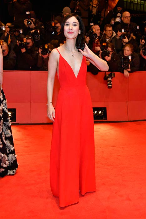 Sibel Kekilli at the Django premiere during the 67th Berlinale International Film Festival in June 2017