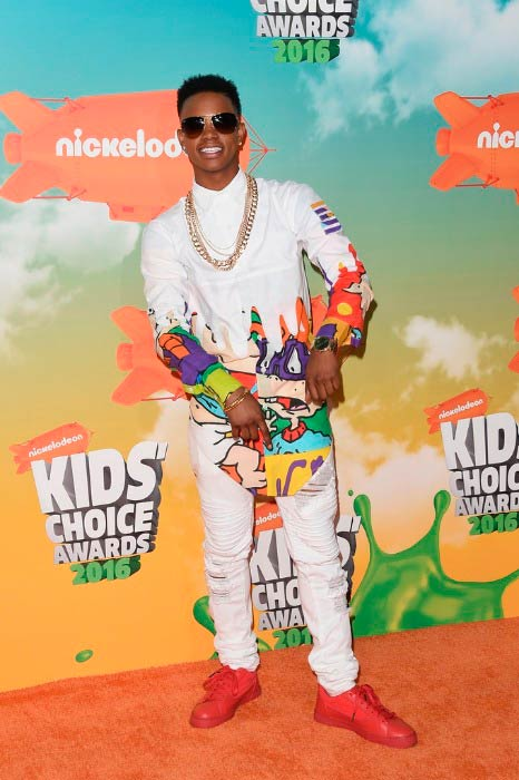 Silento at the Nickelodeon's Kids' Choice Awards in March 2016
