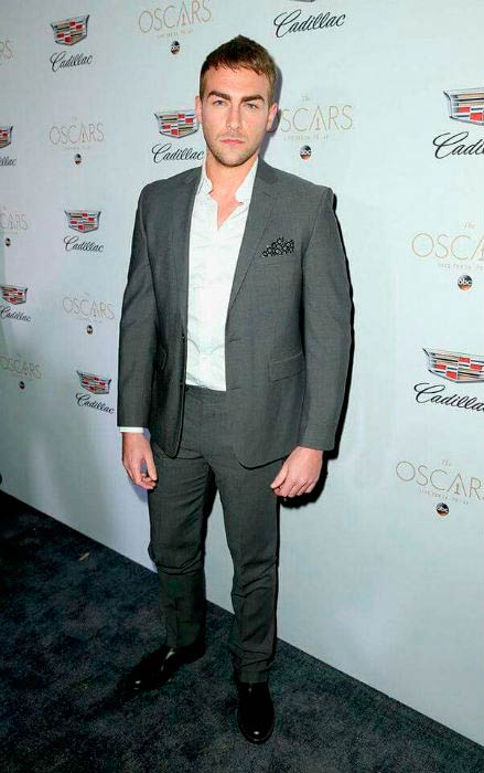 Tom Austen at the Cadillac Oscar Week Celebration in Los Angeles in February 2017