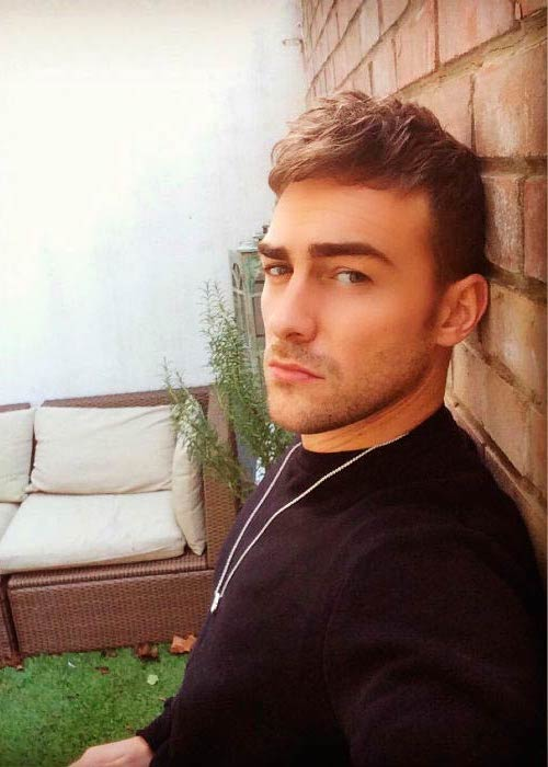Tom Austen in a picture shared on his Instagram in January 2016