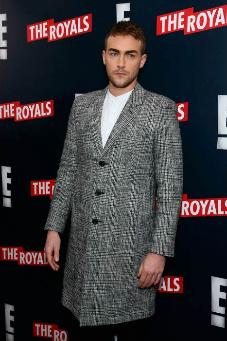Tom Austen at The Royals New York series premiere in March 2015