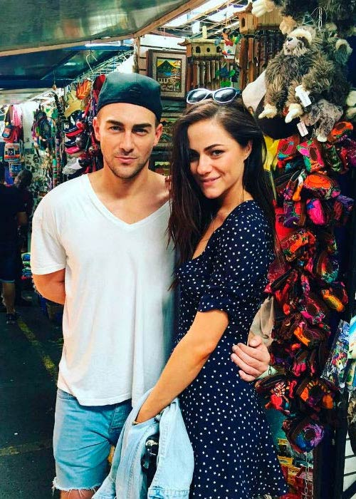Tom Austen and Alexandra Park in a picture uploaded to his Instagram in May 2016