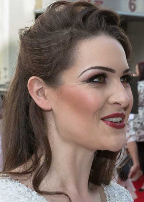 Anna Passey at the 2015 British Academy Television Awards