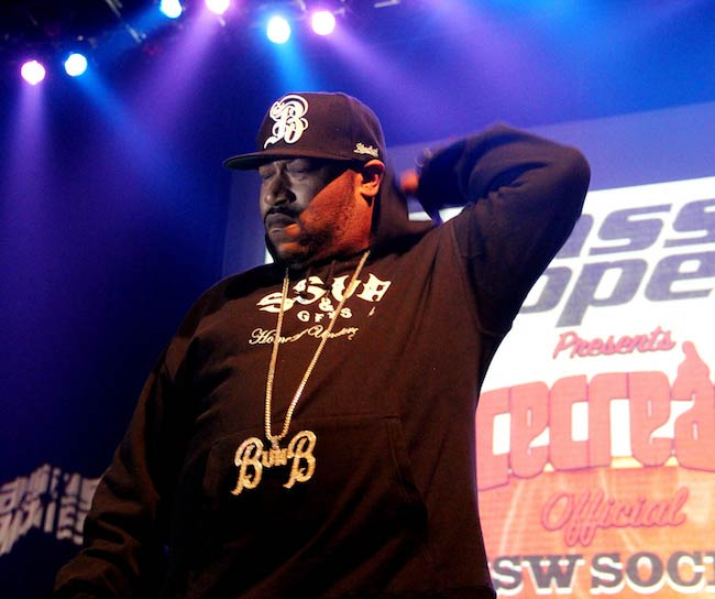 Bun B during a performance in March 2013